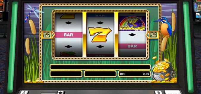 The advent of online slot machine games