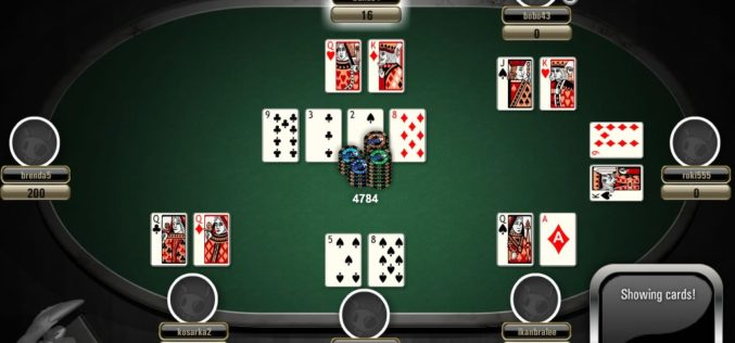 Here's how to have fun with online poker games
